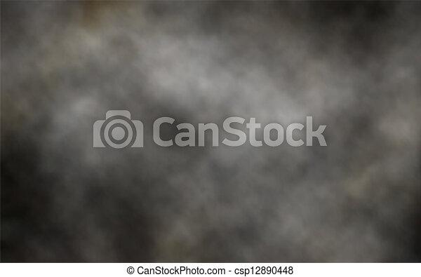 escuro, fumaça, fundo - csp12890448