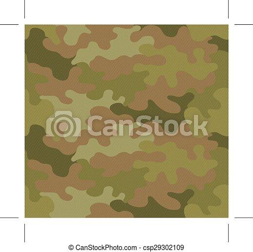 escuro, marrom, camuflagem - csp29302109