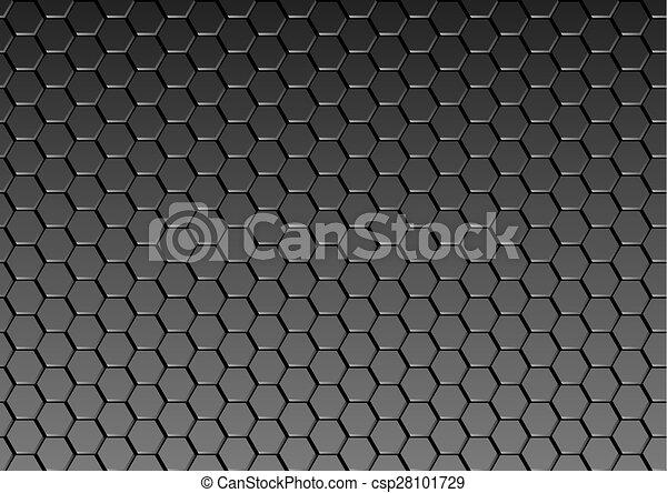 escuro, metal, textura, fundo - csp28101729