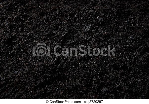 escuro, solo, topo, fundo - csp3720297