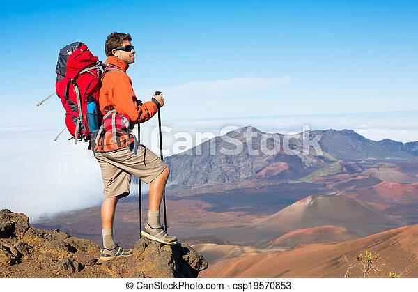escursionista, zaino - csp19570853