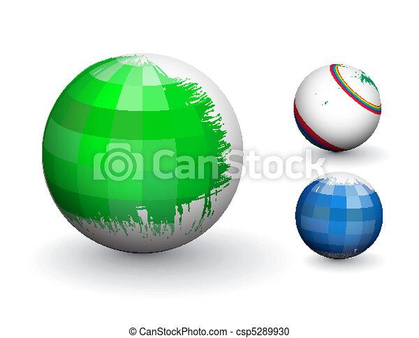 Esfera 3D - csp5289930