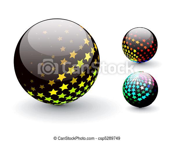 Esfera 3D - csp5289749