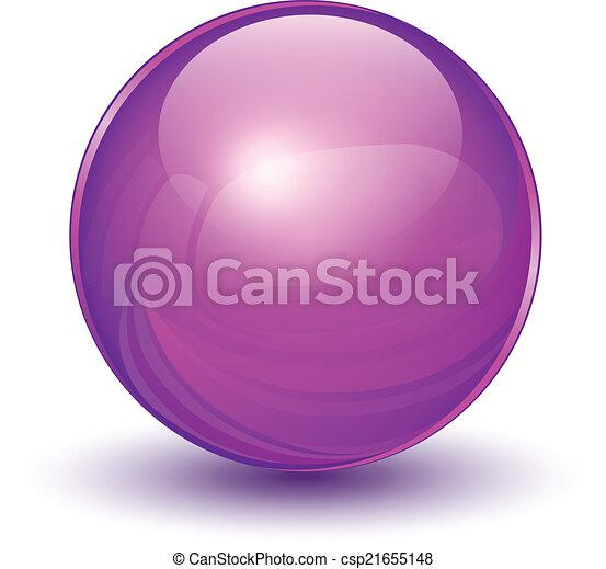 Esfera 3D - csp21655148
