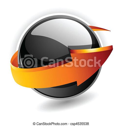 Esfera 3d - csp4535538