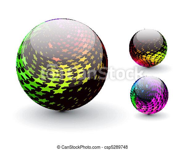 Esfera 3D - csp5289748