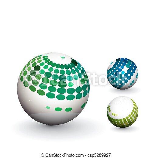 Esfera 3D - csp5289927