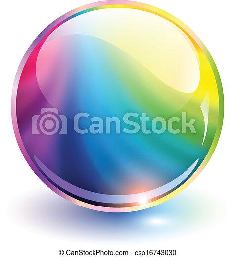 Esfera 3D - csp16743030