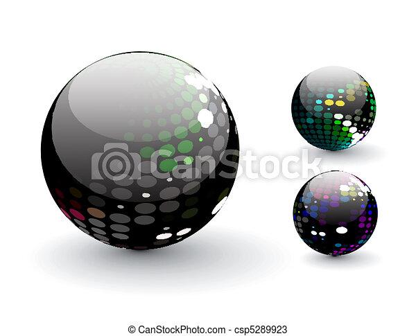Esfera 3D - csp5289923