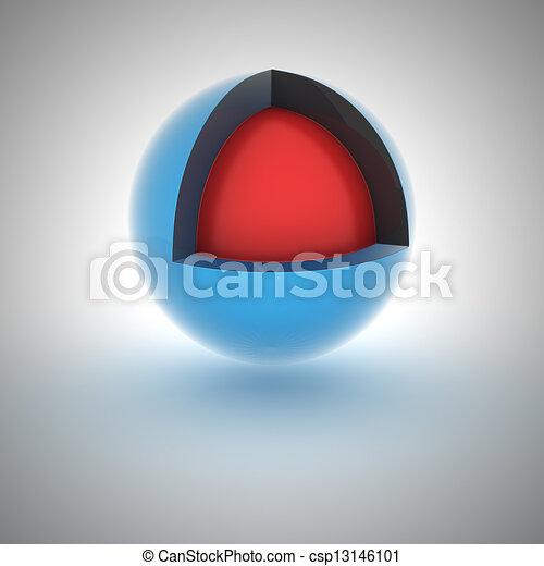 Abstracción Esfera - csp13146101