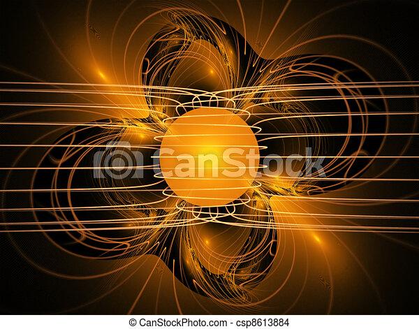 Esfera brillante - csp8613884