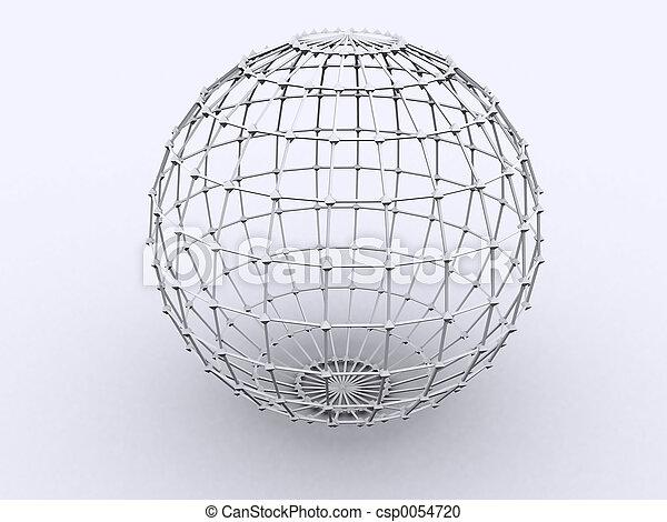 esfera, lattice - csp0054720