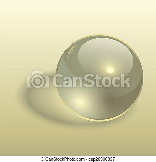 Trasfondo de esfera 3D - csp20300337