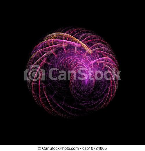 Rayos rojos de la esfera - csp10724865