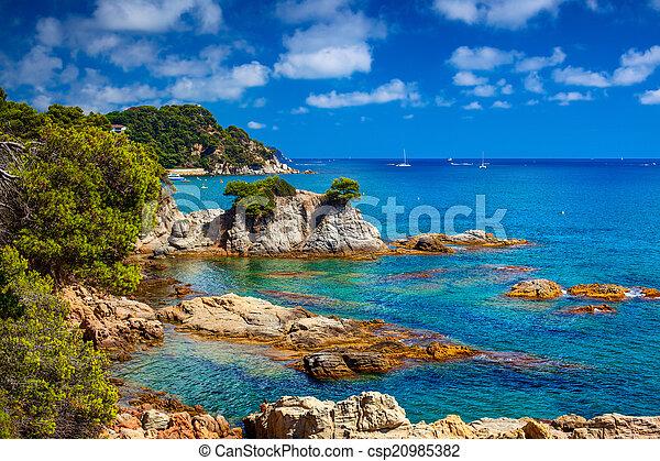 La costa española - csp20985382