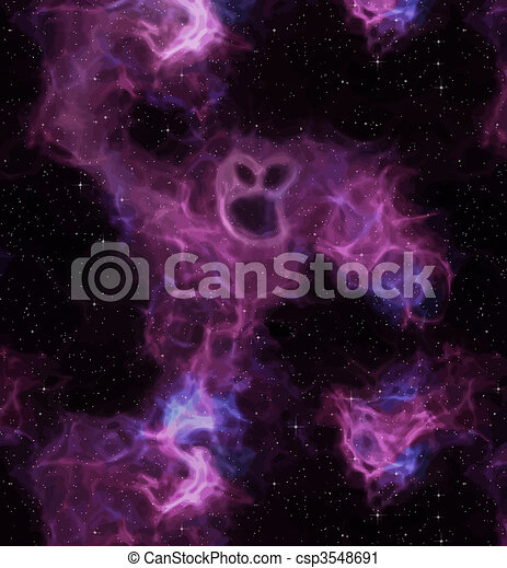espace, monstre, artistique - csp3548691