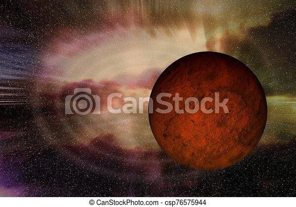 espacio, profundo - csp76575944
