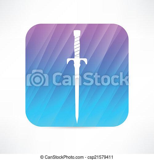 icono espada - csp21579411