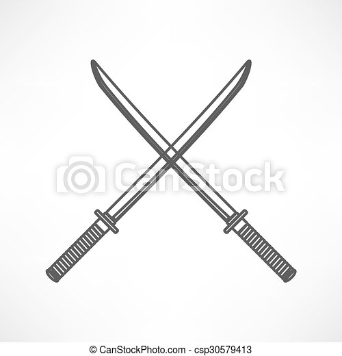 icono espada - csp30579413