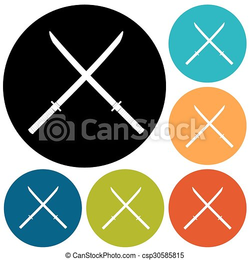 icono espada - csp30585815
