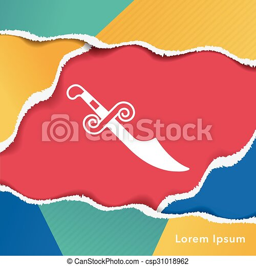 icono espada - csp31018962