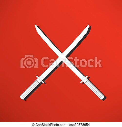 icono espada - csp30578954