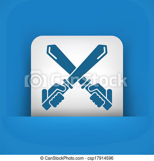 icono espada - csp17914596