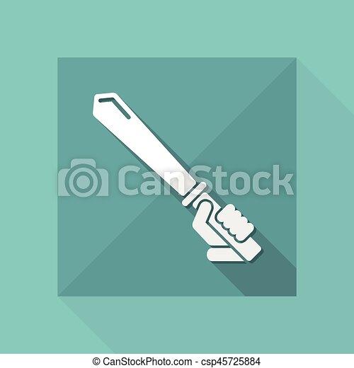 icono espada - csp45725884