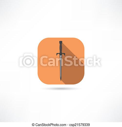icono espada - csp21579339