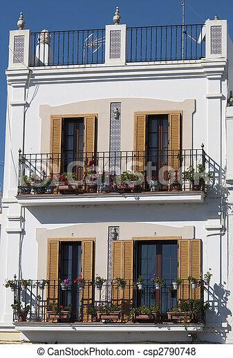 espagnol, balcon - csp2790748