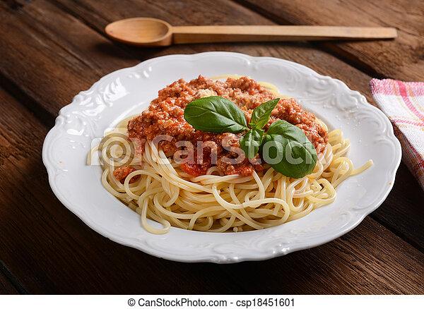 espaguetis - csp18451601