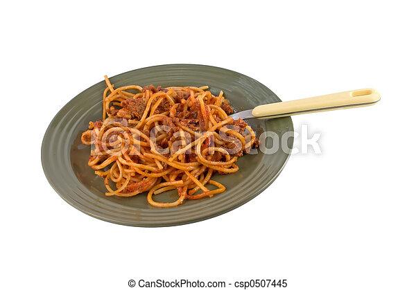 espaguetis - csp0507445
