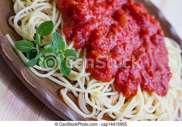 espaguetis - csp14415955