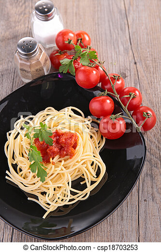 espaguetis - csp18703253