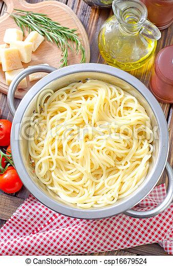 espaguetis - csp16679524
