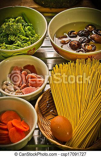 espaguetis - csp17091727