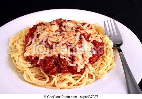 espaguetis - csp0437337