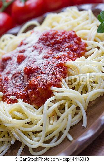 espaguetis - csp14416018