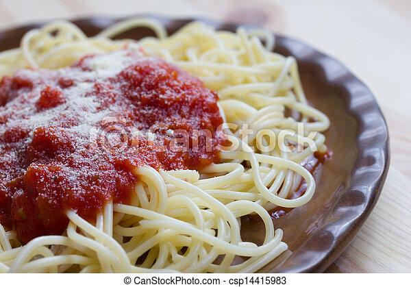 espaguetis - csp14415983