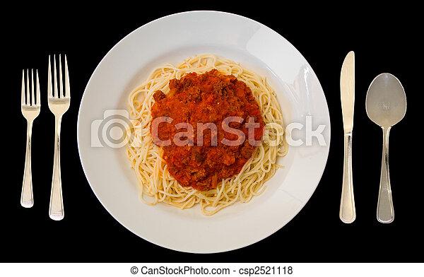espaguetis - csp2521118