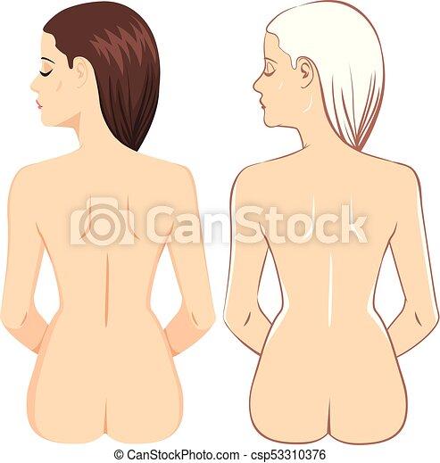 Mujer de atrás - csp53310376