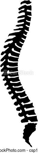 Espina humana - csp14909368