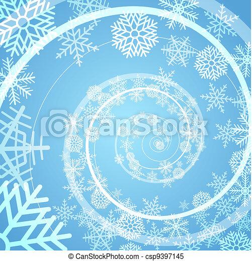 Trasfondo espiral - csp9397145