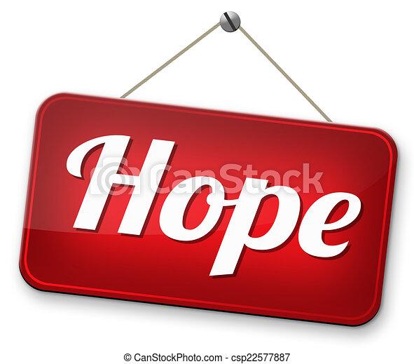 espoir, signe - csp22577887