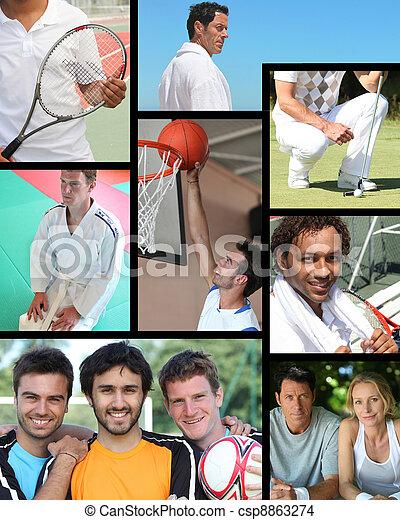 esportes, relaxamento - csp8863274