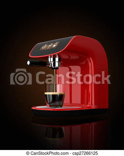 Espresso coffee machine - csp27266125