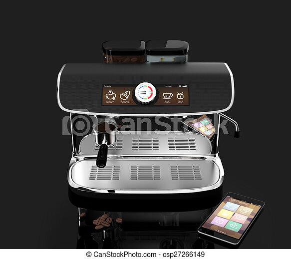Espresso coffee machine - csp27266149