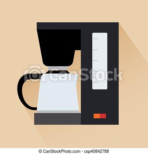 Espresso coffee machine icon - csp40842788