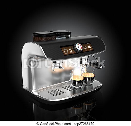 Espresso coffee machine - csp27266170