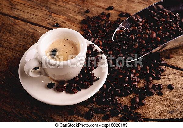 espresso coffee - csp18026183